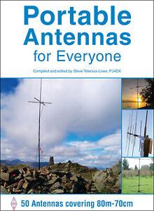 Portable Antennas - 50 Aerials 80m-70cm - Book for Amateur / Ham radio