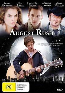 August Rush (DVD, 2008) Region 4 Rare