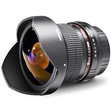 Walimex Pro 8 mm F/3.5 II AE Objektiv für Nikon