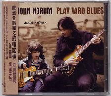 John Norum: Play Yard Blues (2010) Europe / CD OBI TAIWAN