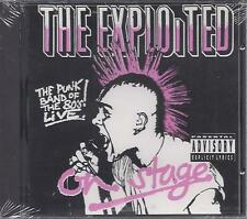 "THE EXPLOITED  ""On Stage""  NEW SEALED PUNK CD"