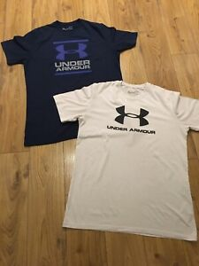 2 Mens Under Armour T- Shirts Size M