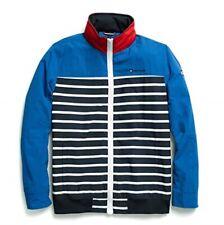 NWT Tommy Hilfiger Tiller Regatta Yachting Striped Jacket w/ Hood Mens Size - XL