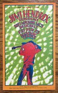 "Grande Ballroom Era ""ORIGINAL"" JIMI HENDRIX Handbill DETROIT 1968 -MC5- GRIMSHAW"