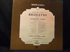 G. Verdi - Rigoletto / Molajoli    2 LP-Box