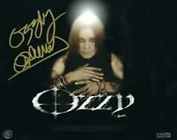 OZZY OSBOURNE HAND SIGNED AUTOGRAPHED 8X10 PHOTO