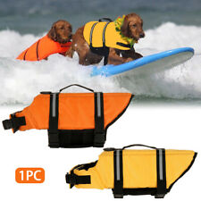 Pet Dog Life Saver Jacket Swimming Float Vest Adjustable Buoyancy Aid Tool