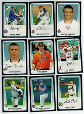 2011 BOWMAN DRAFT PROSPECTS MLB 110-CARD ROOKIE SET SPRINGER LINDOR BAEZ GRAY