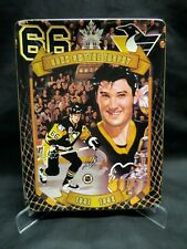 MARIO LEMIEUX Collector Plate (Dominion China), Pittsburgh Penguins, Ltd Ed