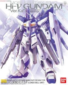 BANDAI MG 1/100 Gundam Plastic Model RX-93-v2 Hi-V Nu 0093 Ver.Ka  AU STOCK