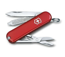 RED VICTORINOX WENGER CLASSIC SD SWISS ARMY POCKET KNIFE MULTI TOOL SCOUT TSA