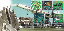 GB 2002 Circus, Cambridge TIMBRO CENTRO Concorde UFFICIALE FDC, 50 solo prodotto