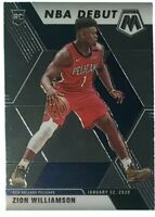 Zion Williamson RC 2019-20 Panini Mosaic Rookie NBA Debut #269 MINT