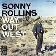 CD album sonny rollins way out west (I 'm à Old Cowhand, solitude) 80`s zyx
