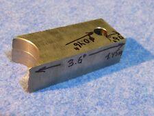 Tungsten Bucking Bar W-86.28%, Ni-8.55%, Fe-2.76%, Co-2.41% (1.45 kg.)