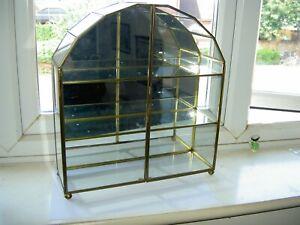 Miniature Curio Antiques Display Cabinet