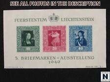 NobleSpirit No Reserve (TH2) Terrific Liechtenstein 238 MNG VF S/S = $55 CV