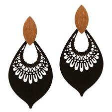 Metal Filigree Open-cut Earring