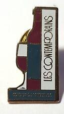 Les Contemporains Wine Enamel Pin Badge