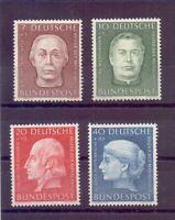 Bund 1954 - Wohlfahrt - MiNr. 200/203 postfrisch** - Michel 55,00 € (155)