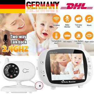 Digital Funk Babyphone Video Monitor Nachtsicht Babypflege / Überwachungskamera