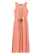 Banana Republic Pink Utility Maxi Dress Size 6 Petite