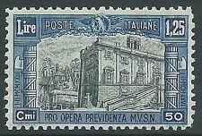 1928 REGNO MILIZIA 1,25 LIRE MNH ** - Y164-2