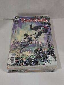 Complete Set of Dark Horse Comics Tarzan 1-20