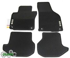 2006-2011 Volkswagen VW EOS All Season MONSTER MATS Set of 4 Black GENUINE OEM