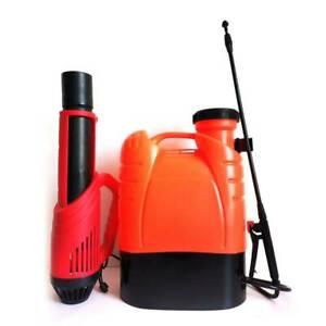 16L Rechargeable Battery Fogger Sprayer Electrostatic ULV Disinfection Sprayer