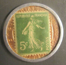 TIMBRE - MONNAIE - 5 Cts. Vert - Emprunt National Crédit Lyonnais - 1920/24