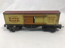 Vintage Lionel 1679 Baby Ruth Mid-Century Train Car