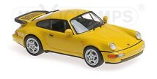 Minichamps MAXICHAMPS 940069104 - PORSCHE 911 TURBO (964) – 1990 YELLOW 1/43