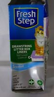 Fresh Step Drawstring Litter Box Liners 7 Pack Large Scented T2