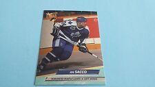 1992/93 FLEER ULTRA HOCKEY JOE SACCO CARD #215***TORONO MAPLE LEAFS***