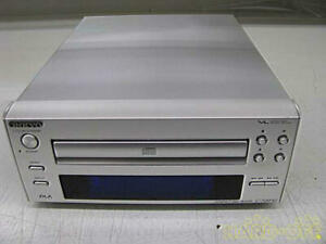ONKYO C-705FX2 CD Player Silver INTEC205 VLSC DAC 100V Japan with Well Condition