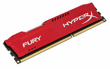 Kingston Hyperx Fury - componentes memorias