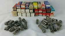 Vintage Radio Tv Electron Vacuum Tube 12Be6 9Au7 12Bl6 1Gh8A 6Al5 4De6