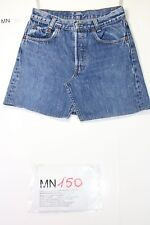 MINIGONNA Levi's Mini Skirt (Cod.MN150) tg42 W28 jeans usato vintage