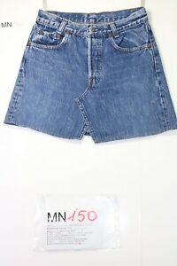 Mini Jupe Levi's (Cod.MN150) tg42 W28 Jeans D'Occassion Vintage
