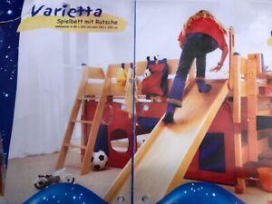 """Rutsche & Leiter für Kinderbett Hochbett (Spielbett) """"Varietta"""" der Marke PAIDI"""