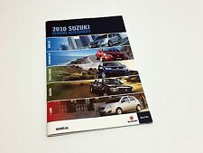 2010 Suzuki SX4 Sedan Hatchback Grand Vitara Equator Swift+ Accessories Brochure