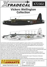 Xtradecal 72302 Decals 1/72 Vickers Wellington Mk.I (8)