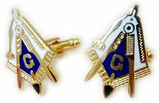 WORKING TOOLS Gavel Plumb Level Trowel Masonic Freemason Cuff links Cufflink Set