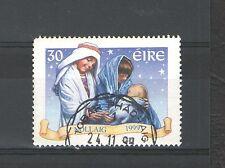 R1394 - IRLANDA 1999 - NATALE - N. 1200  MAZZETTA DA 15 USATA  - VEDI FOTO