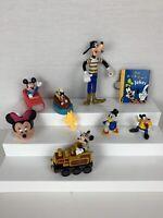 Walt Disney Mickey Mouse Minnie Mouse Donald Duck Goofy Toys Lot