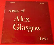 Alex Glasgow Songs Of..Two/2 LP UK ORIG 1975 MWM Alan Plater Trinity Tales VINYL