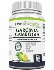 Pure Garcinia Cambogia Extract with 60 Hca Extra Strength Essential