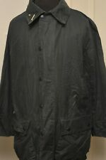 "STUNNING BARBOUR BORDER A205 WAX COTTON JACKET 46"" / 117CM BLUE XL"
