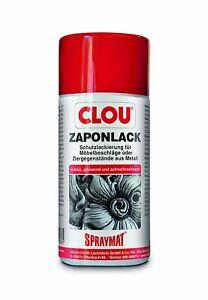 CLOU Spraymat Zaponlack 300ml Farblos /Schutzlackierung / Metallfirnis / Metall